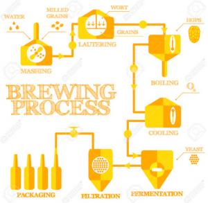 étapes brassage bière